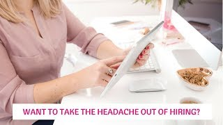 Take the headache out of hiring your salon staff!