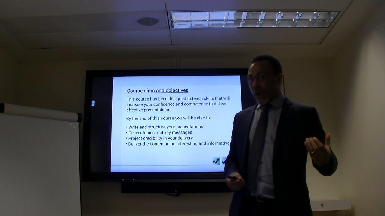 Presentation Skills - Good Presentation Example