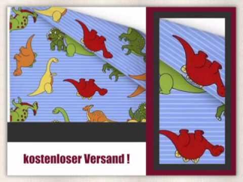 Kinder Biber Bettwäsche Dino - Baby Winterbettwäsche 100x135 Dinosaurier - empressia.de