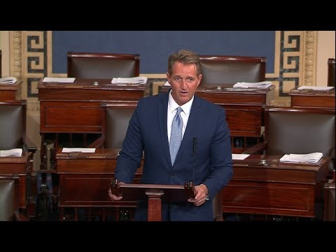 WATCH: Sen. Jeff Flake announces he won't seek re-election