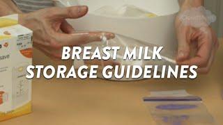 Breast Milk Storage Guidelines | CloudMom