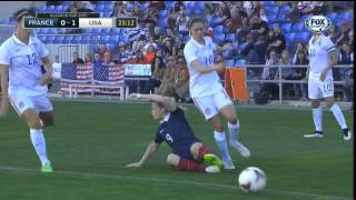 USWNT France 2015 Algarve Cup Final Full Game FOX SPORTS USA
