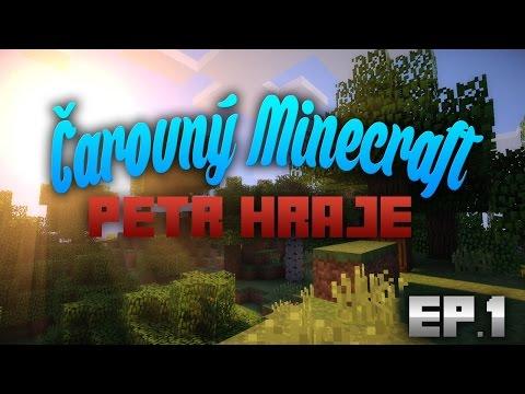 Minecraft Čarovný MC Part-1 Informace o serveru a začátky