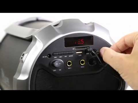 PowerRocker Bluetooth Akku Lautsprecher | für iPhone | iPad | Handy | Smartphone