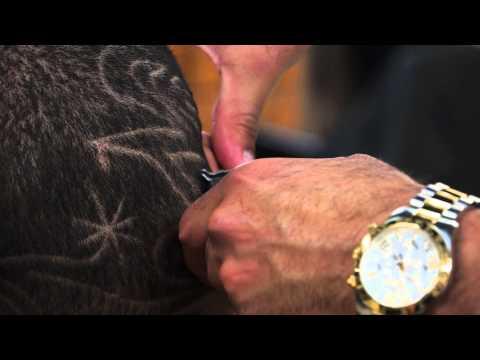 Como hacer diseños en pelo de hombre.