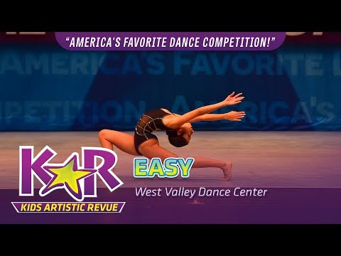 """Easy"" from West Valley Dance Company"