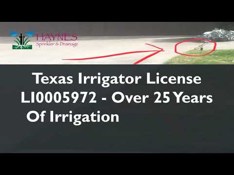 McKinney, Melissa, Anna, Princeton Irrigation And Sprinkler Repair - Residential And Commercial