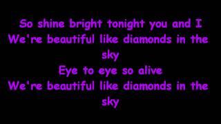 Rihanna - Diamonds (Remix) [feat. Kanye West] (Lyrics on Screen)