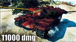 Т57 ХЕВИ 11000 урона 🌟 МАЛО СНАРЯДОВ 🌟 World of Tanks лучший бой T57 Heavy Tank