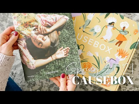 CAUSEBOX Unboxing Spring 2021