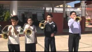 preview picture of video 'Calimaya Entrega trompetas a escuelas'