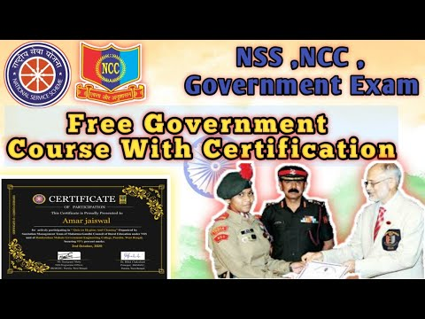 Free Government Certificate   NSS Free Certificate   online Courses ...