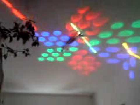 LED-Laser-Beam-Effekt-Test