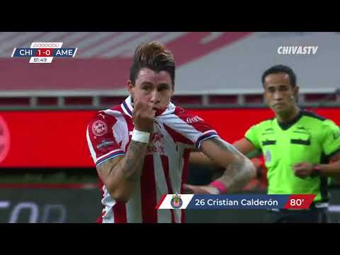 Gol Chicote Calderón   Chivas 1-0 América   4to Final