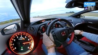 Download Video 2016 Civic Type R (310hp) - 0-270 km/h acceleration (60FPS) MP3 3GP MP4