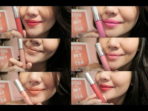 SWATCHES & REVIEW WARDAH EXCLUSIVE MATTE LIP CREAM 2016 / INDONESIA