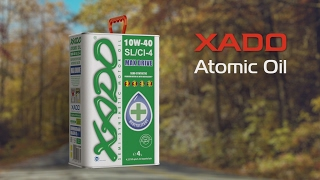 XADO Atomic Oil 10W-40 SL/CI-4 1L от компании Avto-Max - видео