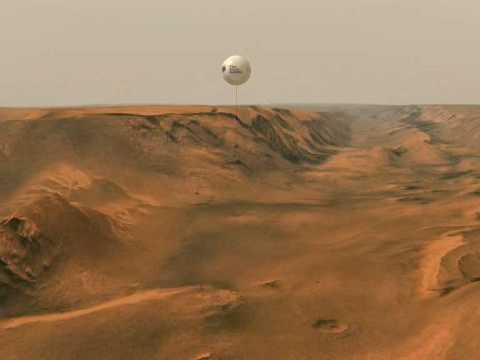 mars landing with balloons - photo #40