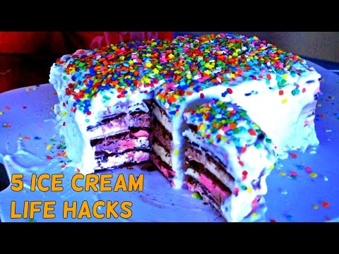5 Awesome Ice Cream Life Hacks