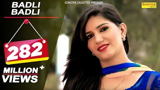 Haryanvi Songs  Badli Badli Laage || Sapna & Vickky Kajla || Latest Song 2016 || बदली बदली लागे