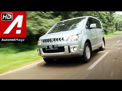 Review and test drive Mitsubishi Delica D5 Indonesia by AutonetMagz
