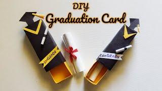 DIY Graduation Gift   Graduation Cap Card    How To Make A Handmade Graduation Card