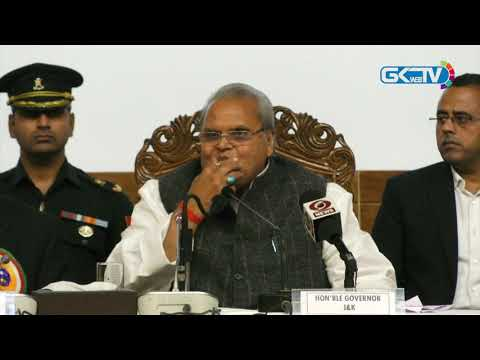 Governor says delimitation in Jammu and Kashmir just a rumour