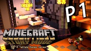 Minecraft Story Mode Chapter 2《我的世界故事模式》第二章 Part 1