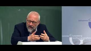 """Stiftungsprofessur 2018: Herfried Münkler - """"Staatenmosaik Und Imperium """" (08.05.2018)"""