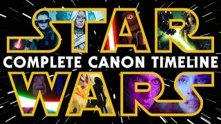 Star Wars: The Complete Canon Timeline (2017)