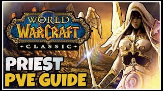 Classic WoW Priest PvE Guide (Races, Talents, Consumables, Rotation) | Classic WoW Class Guides