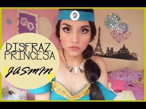 PRINCESA JASMIN / MAQUILLAJE/DISFRAZ