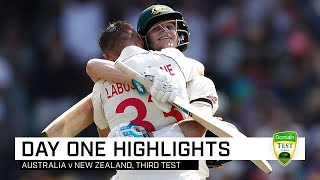 Labuschagne, Smith make Kiwis toil hard at the SCG | Third Domain Test v New Zealand