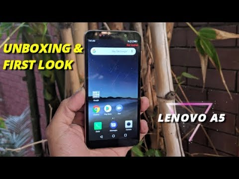 Lenovo A5 Unboxing and First Look