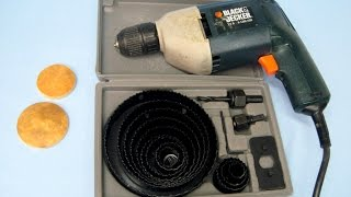 How to use the Circle Hole Saw Blades ~ Featuring Miriam Joy