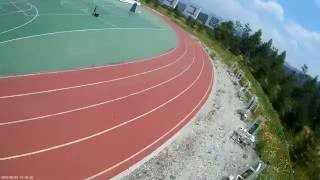 FPV RACING DRONE Eachine RACER 250 한라대학교 트랙연습 영상