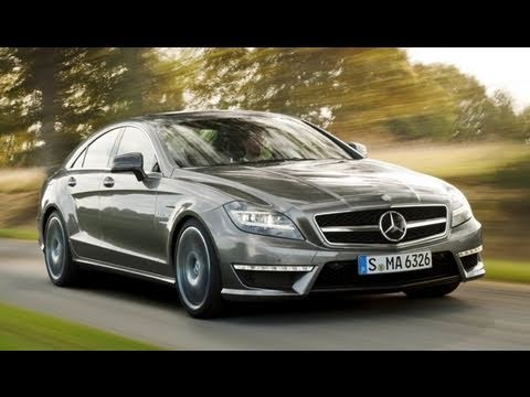 2012 Mercedes-Benz CLS 63 AMG test drive