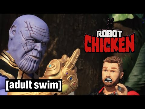 Thanosovo lusknutí - Robot Chicken