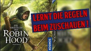 """Die Abenteuer des Robin Hood - Regeln beim Spielen lernen - Das komplette Tutorial """"Die Flucht"""""""