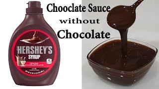 chocolate sauce recipe with cocoa powder