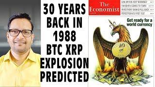 1988TheEconomistMagazinePredictedBitcoin&XRPPriceExplosion&ANewWorldCurrencyin2018