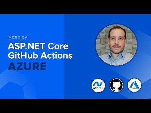 ASP.NET Core Deploy GitHub Actions Azure
