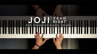 Joji   Yeah Right   The Theorist Piano Cover