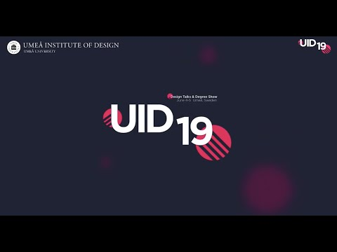 Film: UID19 | Design Talks and Degree Show 2019, Dag 2