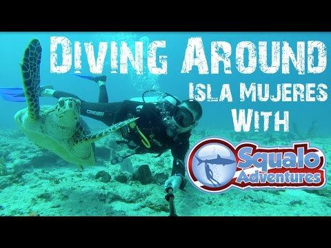 Scuba Diving Around Isla Mujeres, Mexico With Squalo Adventures