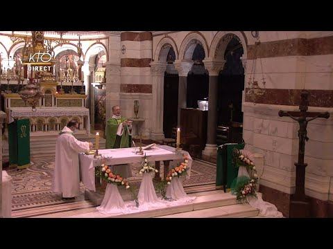 Laudes et Messe du 12 février 2021 à Notre-Dame de la Garde