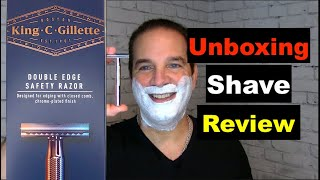 Tutorial: Learn How To Shave With A Safety Razor-King C. Gillette