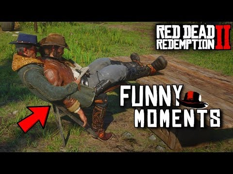 Red Dead Redemption 2 - Funny Moments #2