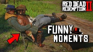 Red Dead Redemption 2 - Try Not To Laugh Challenge #2