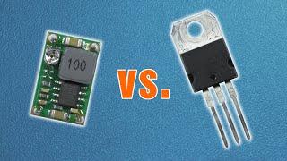 Buck Converter Vs. Linear Voltage Regulator   Practical Comparison